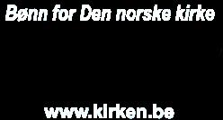 Bønn for den norske kirkes logo