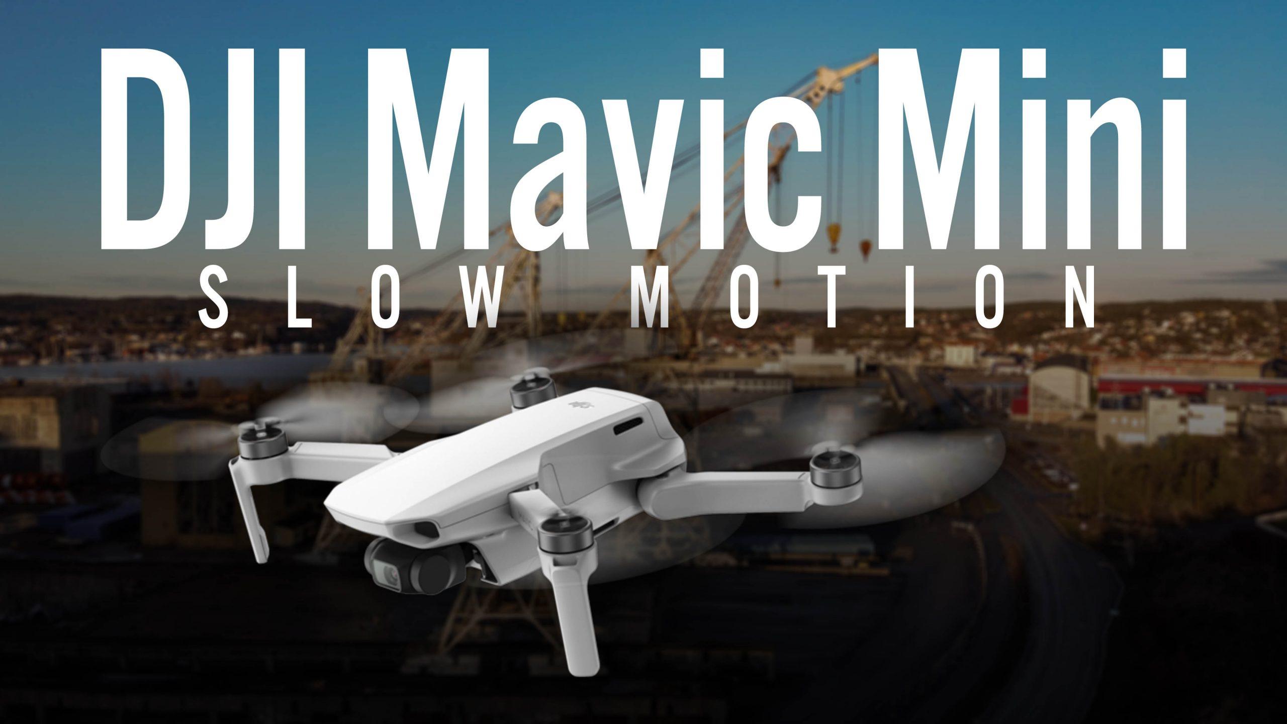 DJI Mavic Mini - Slow Motion