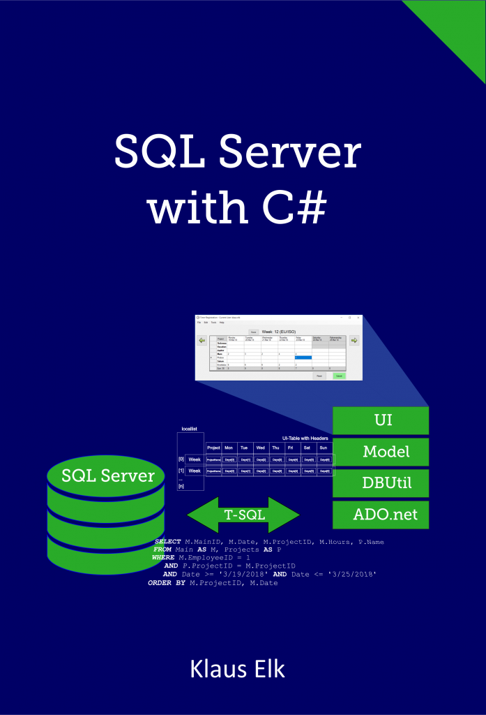 Cover of SQL-Server with C#