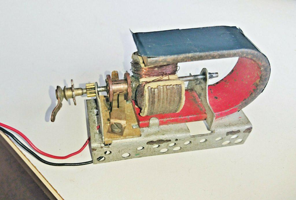 Meccano brushed DC Motor