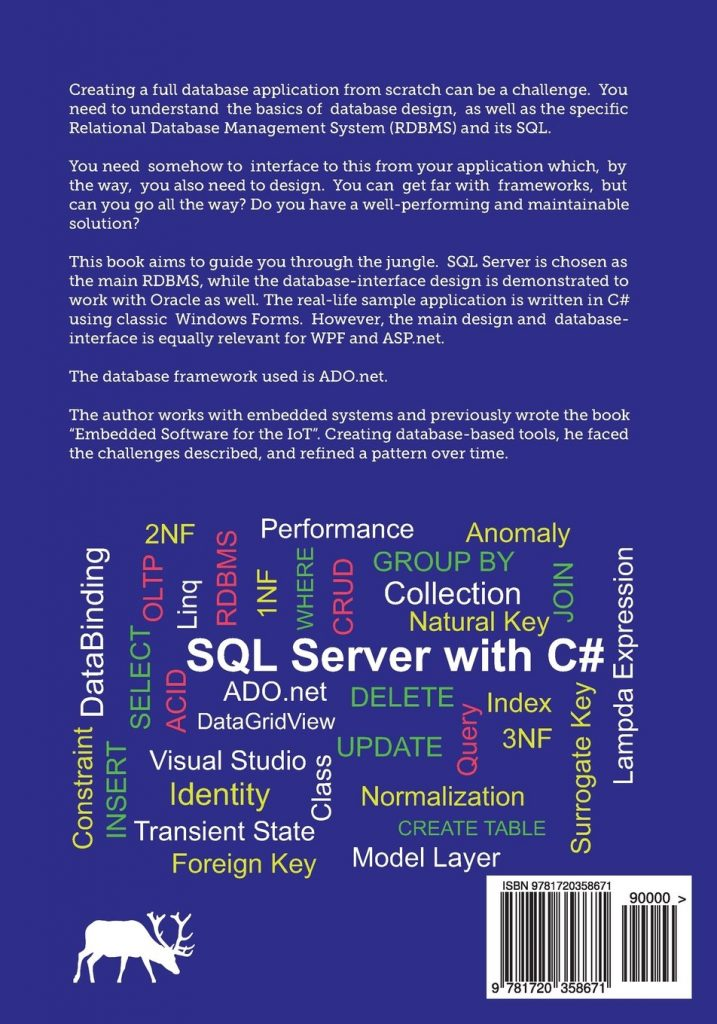 SQL Server with C# backcover