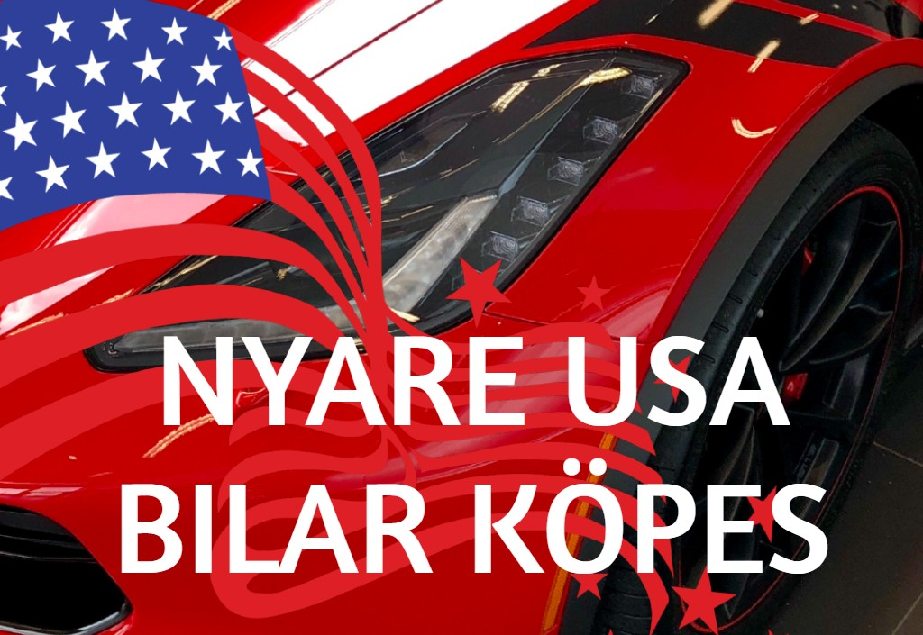 Nyare USA bilar KÖPES