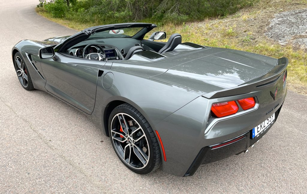 Chevrolet Corvette Stingray Convertible SÅLD