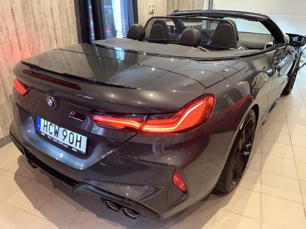 BMW M8 Competition Svensksåld