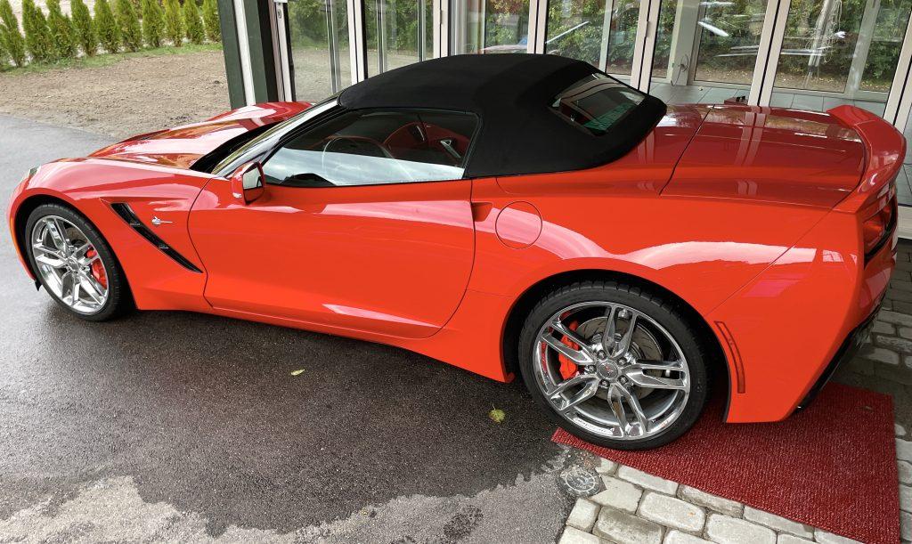 Chevrolet Corvette C7 Stingray Cab Competition Svensksåld