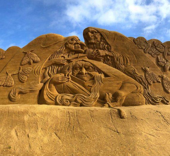 Sandskulpturenfestival Søndervig: so schön und so zerbrechlich