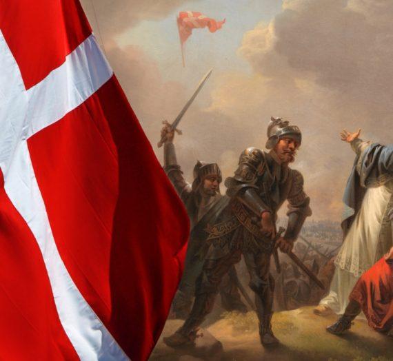 Waldemarstag in Dänemark: der Dannebrog wird 800 Jahre alt