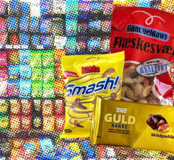 Wir probieren dänische Süßigkeiten und Snacks