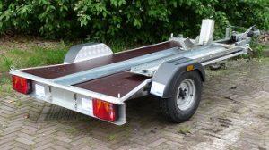 motoraanhanger geremd type 750kg