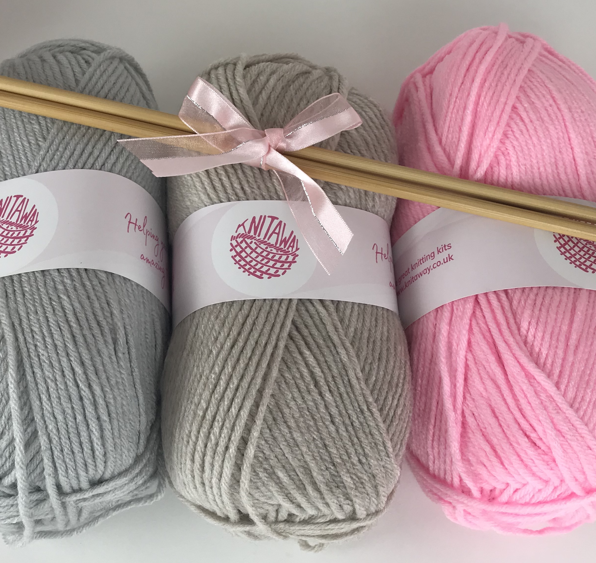 Beginners Knitting Kit easy to learn to knit