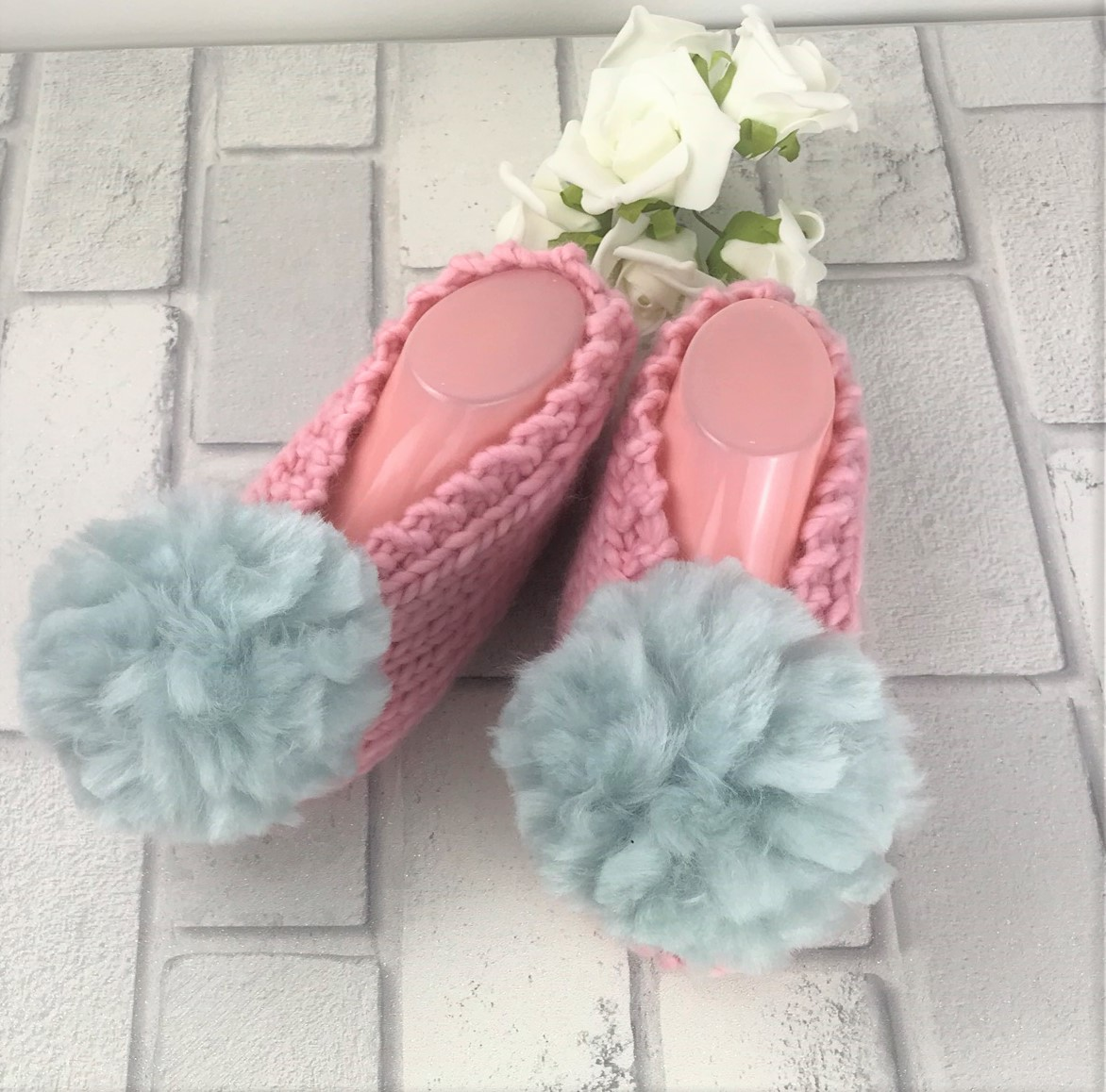 candy-floss-pink-with-grey-pom-poms