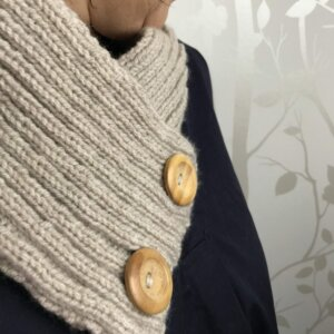 Sleek Snood Knitting Kit