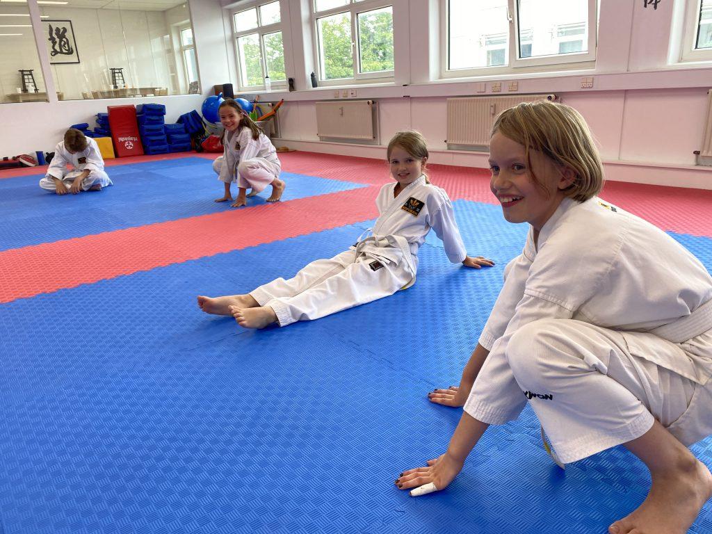 Vellykket træningsdag for børn begynder holdet