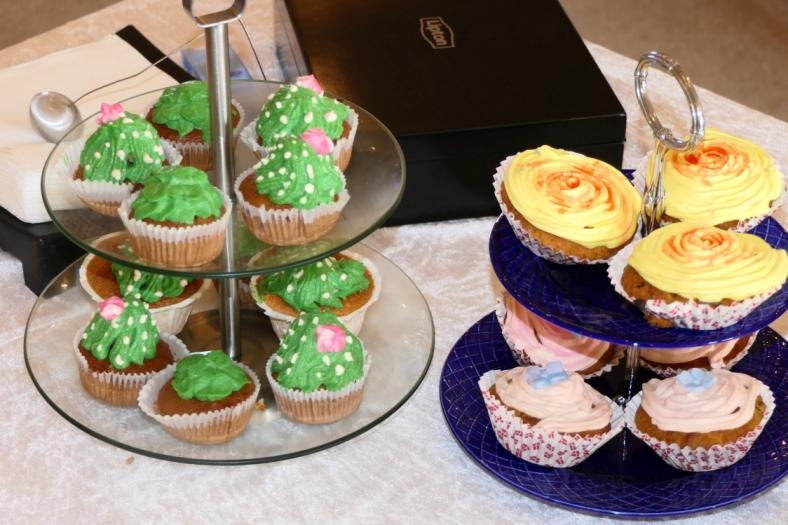 Et lille udsnit af cupcake kreationerne.