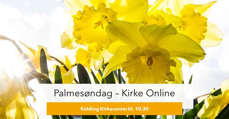 Kirke Online – Palmesøndag