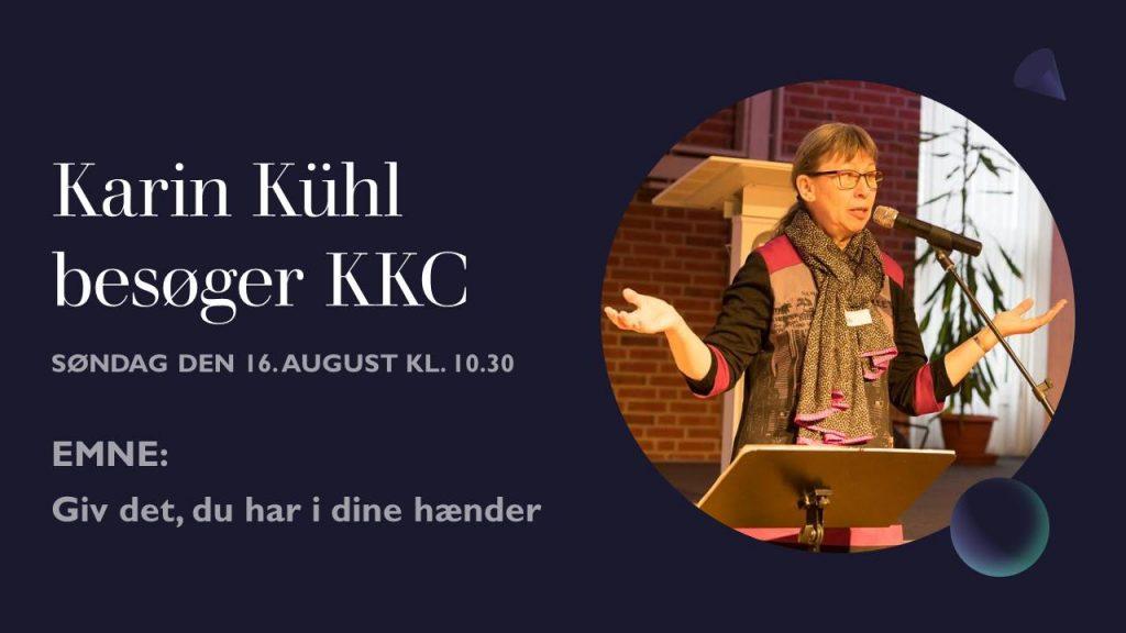 Besøg af Karin Kühl