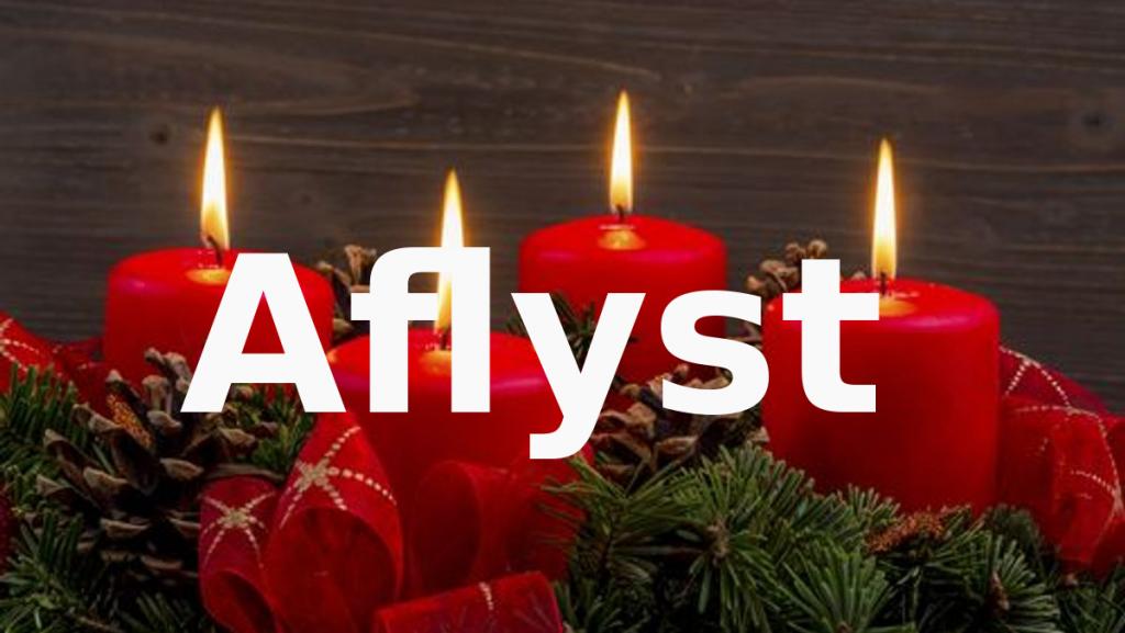 AFLYST: 4 søndag i Advent