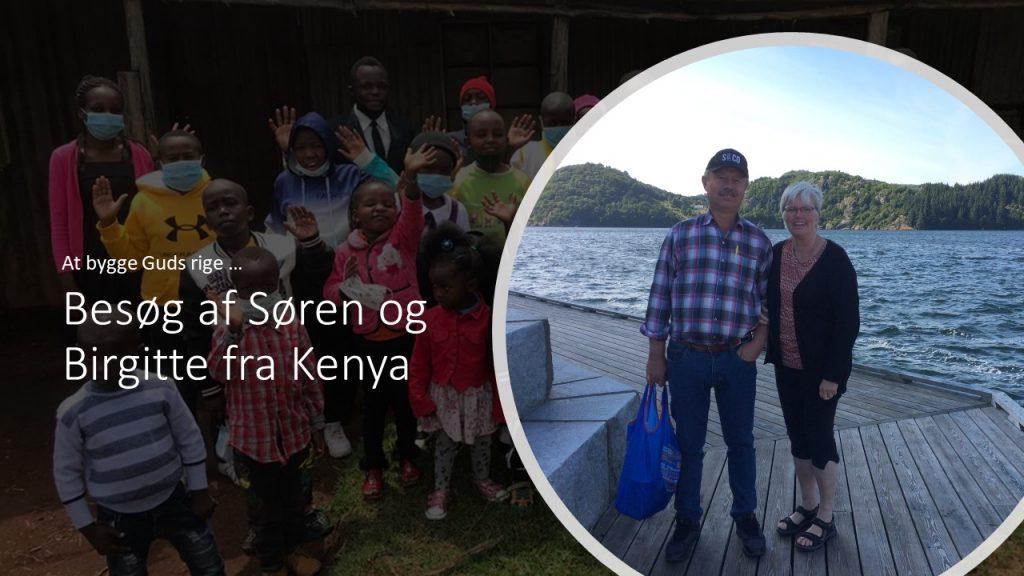 Besøg fra Kenya d. 11-8-21 klokken 19:00
