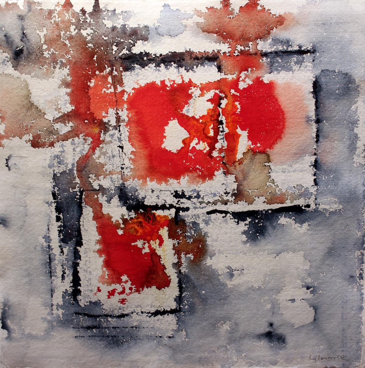 Lilmarie Mellberg Måleri |Akvarell 30 x 30 cm utan ram 43 x 44 cm med ram 3 000 kr med ram lilmarie.se