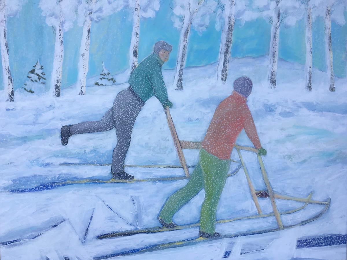 Eeva-Leena Väätäjä Måleri |Akryl 100 x 85 cm 6 000 kr eevaleena.se