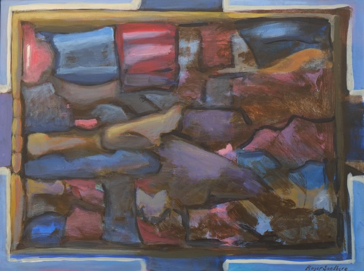 Roger Sandberg Måleri | Akryl 80 x 60 cm 7000 kr sandberg-art.com