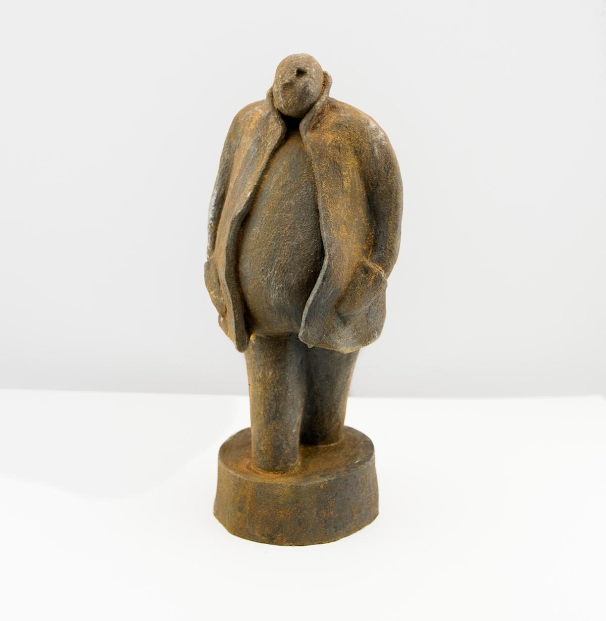 Lars-Lennart Stenberg Skulptur | Patinerat stengods  H30 x B15 x D13 cm 4 000 kr