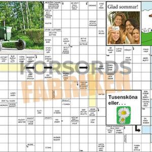 Korsord - En resa i det grön KRYSSET