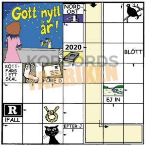 Korsord - Nyårsnatt-KRYSS