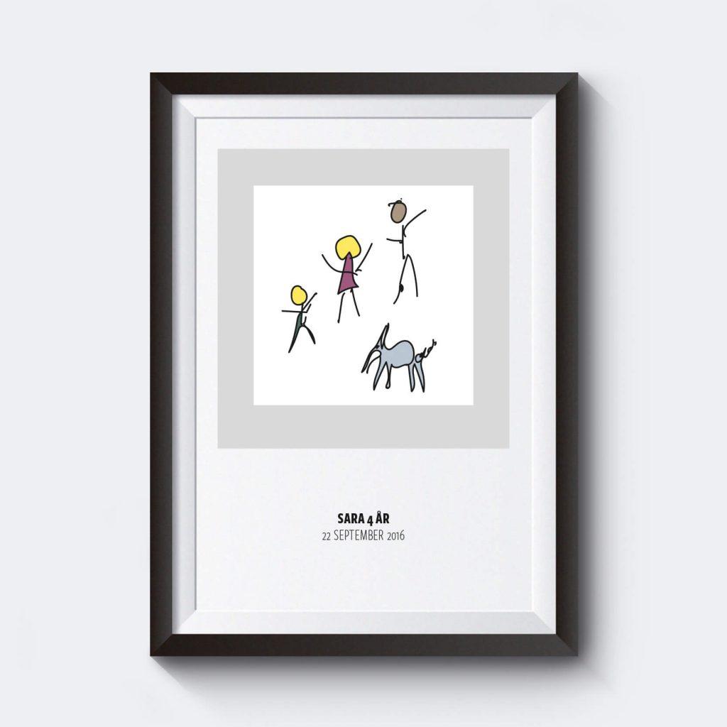 egen-barnteckning-personligt-konstverkt-egen-text