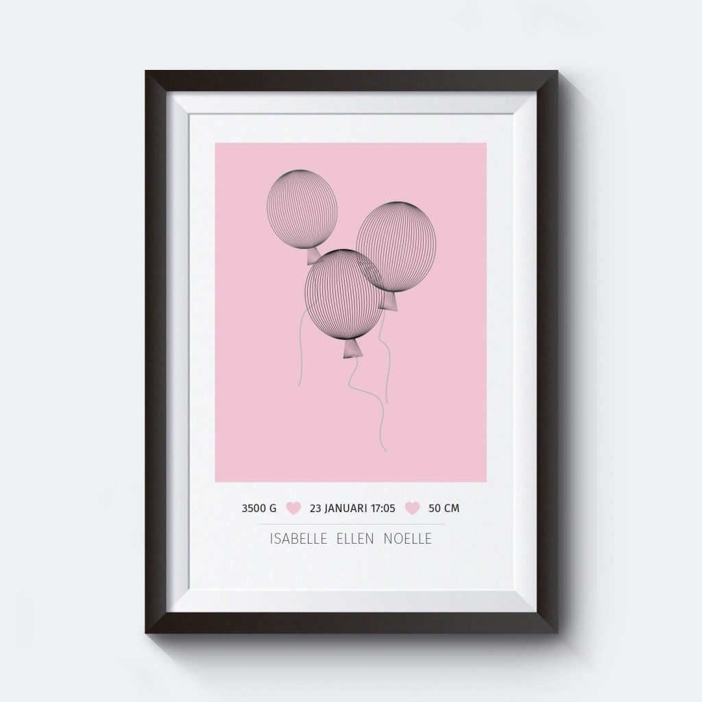namntavla-doppresent-ballonger-fodelsetavla-rosa