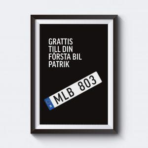 personliga affischer med egen text