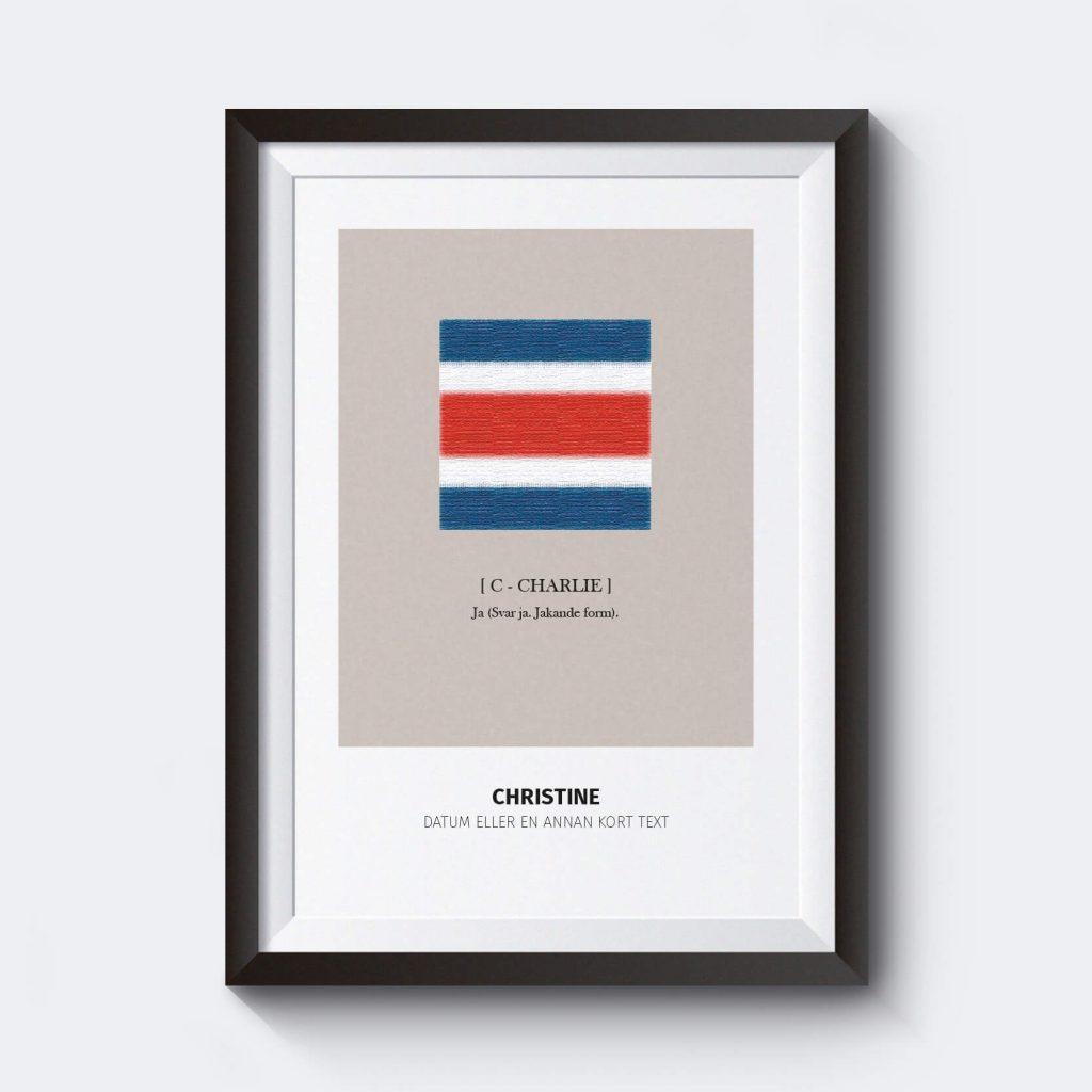 snygga-tavlor-vardagsrum-personliga-posters-signalflaggor-c