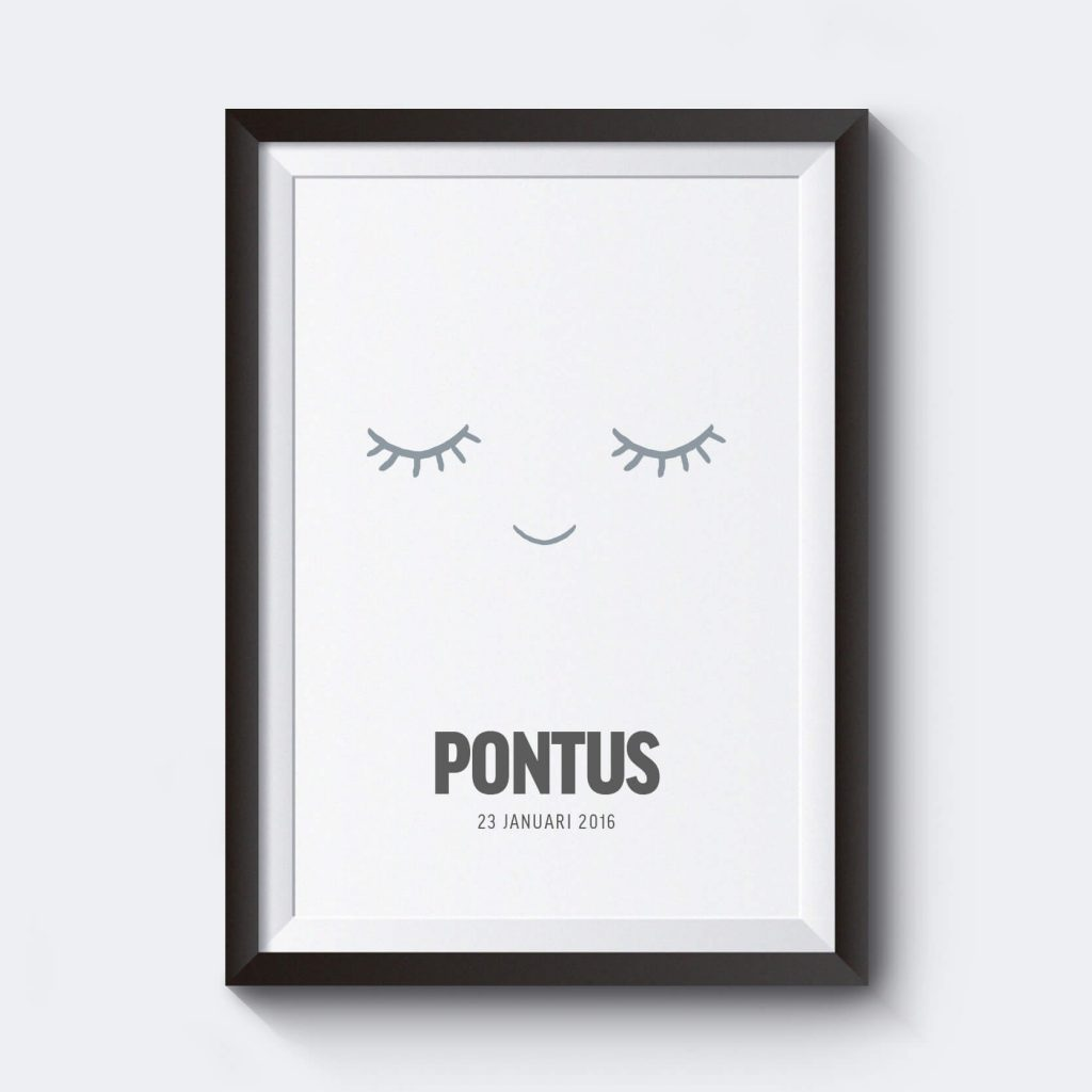 Personliga prints med ögonmotiv