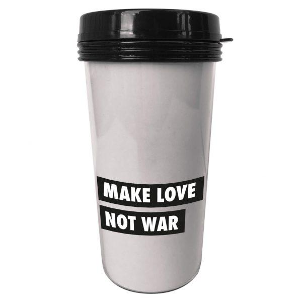 Kaffemugg från Sagaform med egen text.