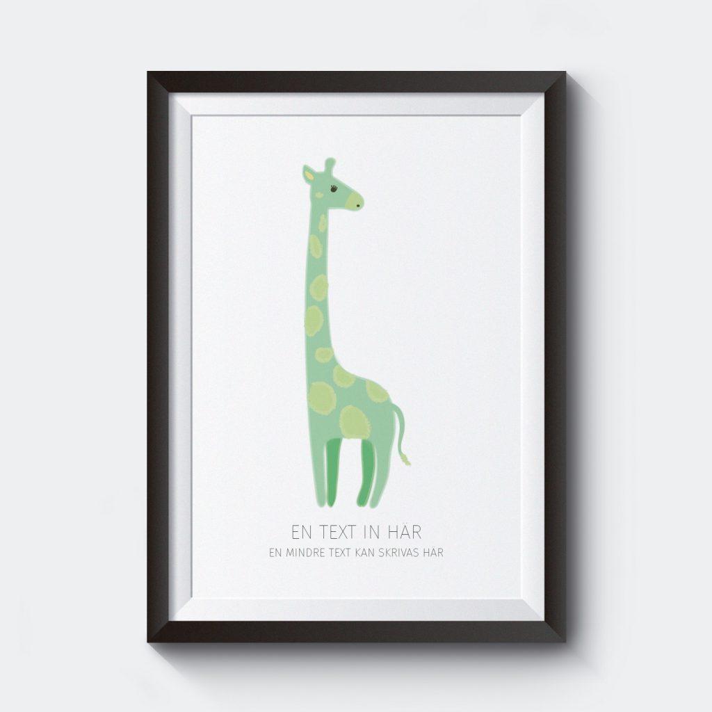 barnposter-med-namn-giraff