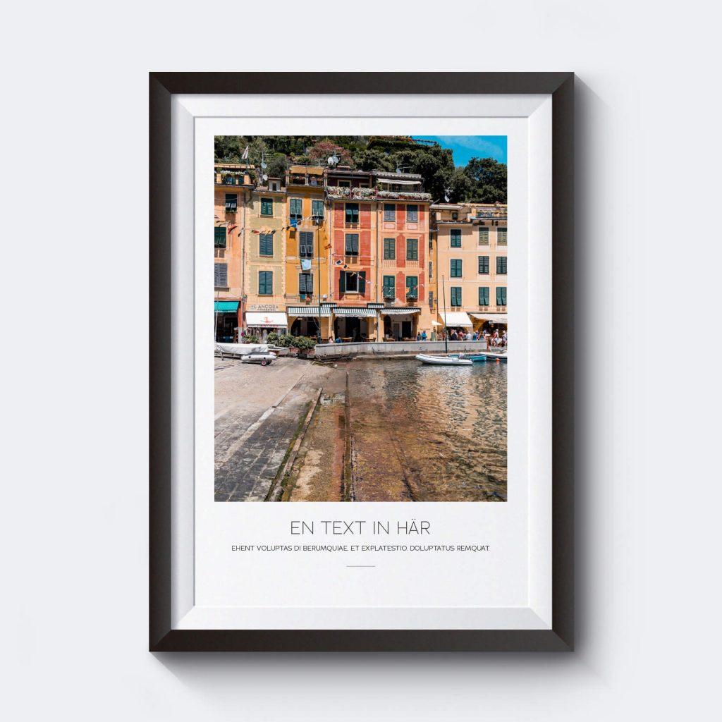 Gör en egen tavla från Italien.