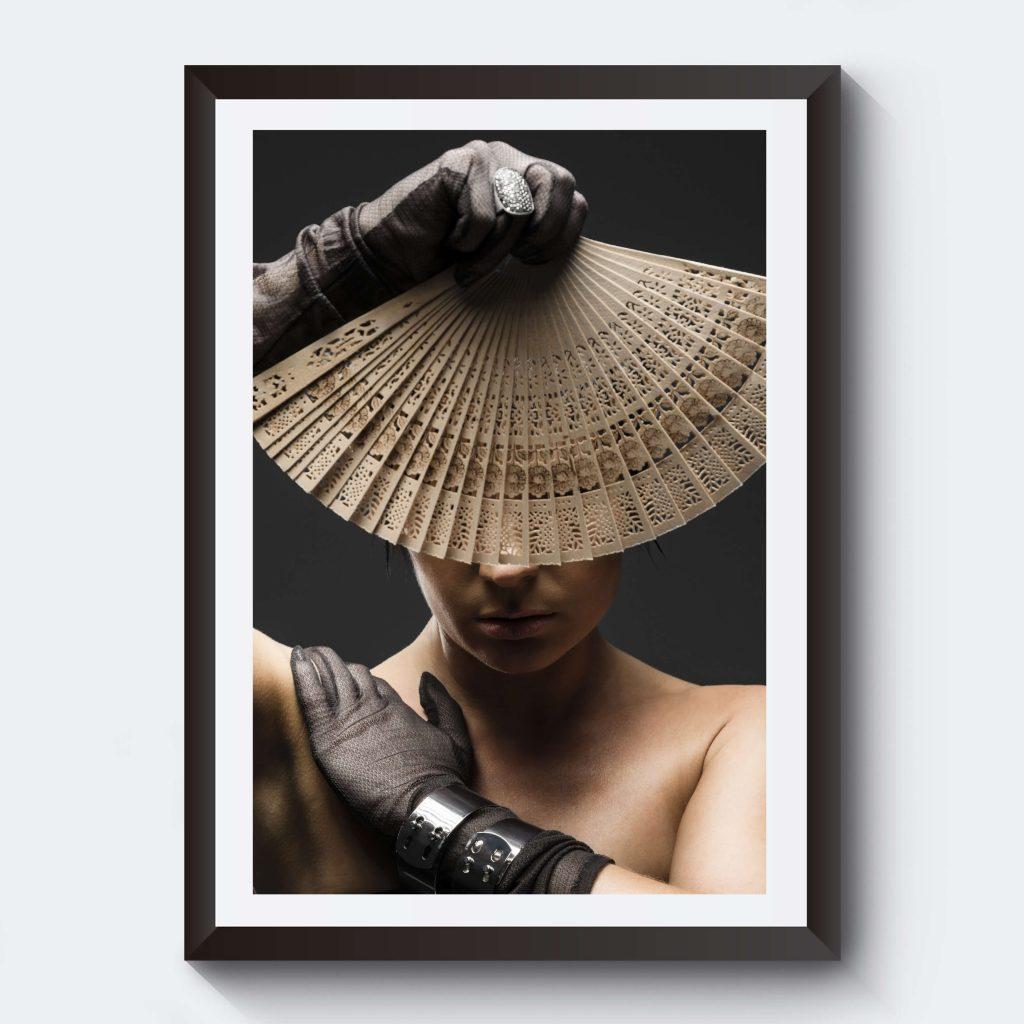 poster-fotoart-fotokonst-manniska-tavla-solfjader