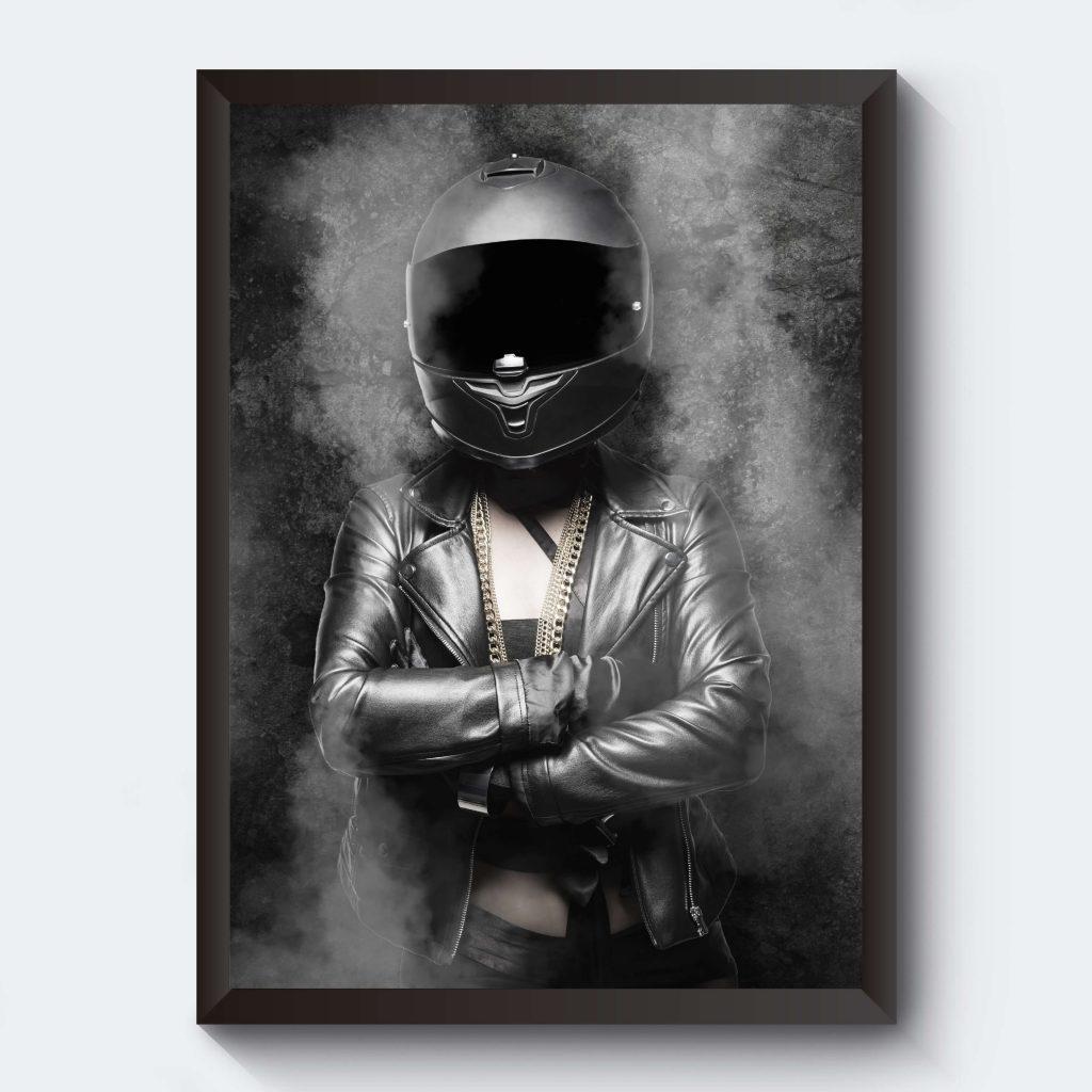 Personliga tavlor svartvita motiv