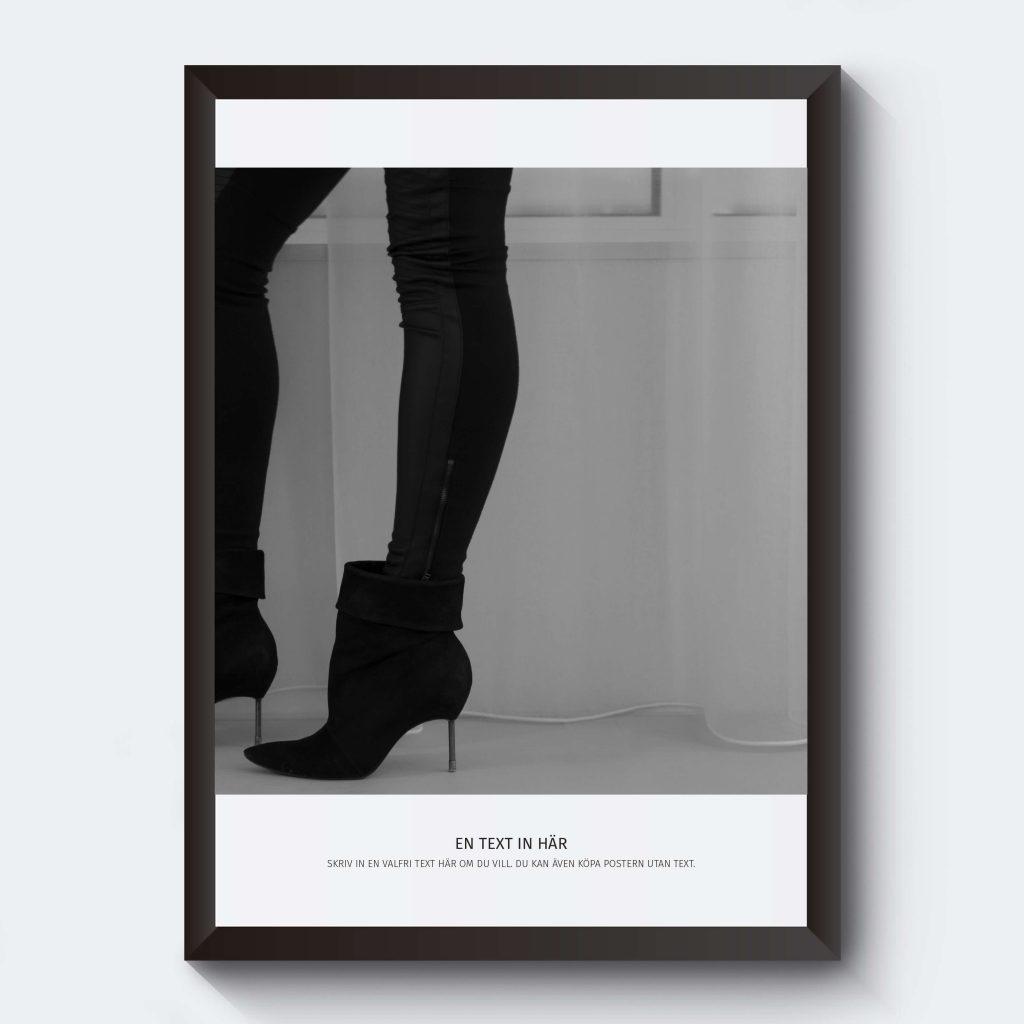 Personlig affisch ben