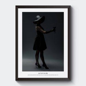 Personlig svartvit fotokonst.