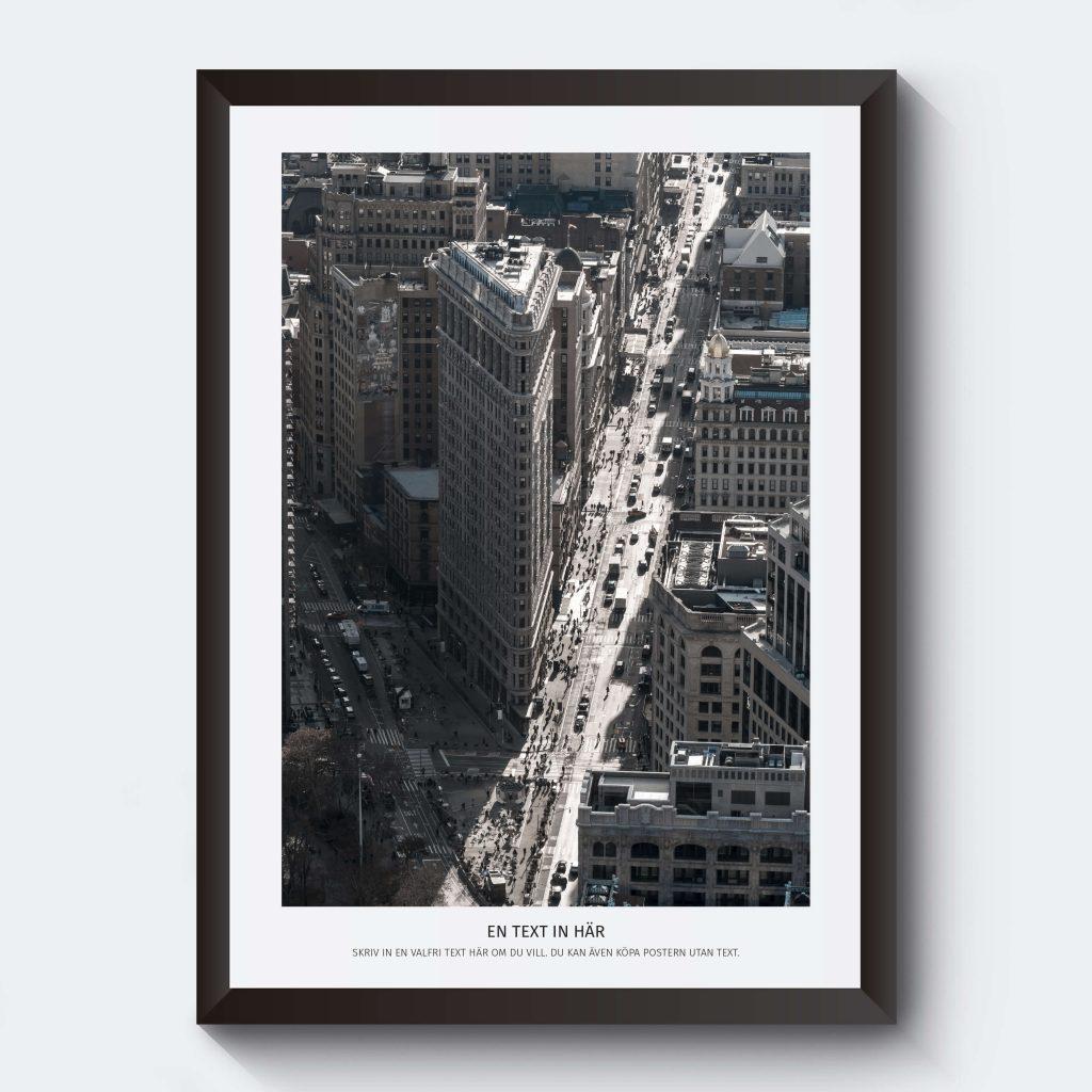 Personlig posters stadsbild