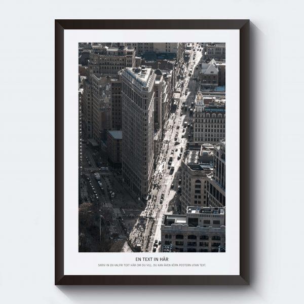 Affischer konst stadsmotiv