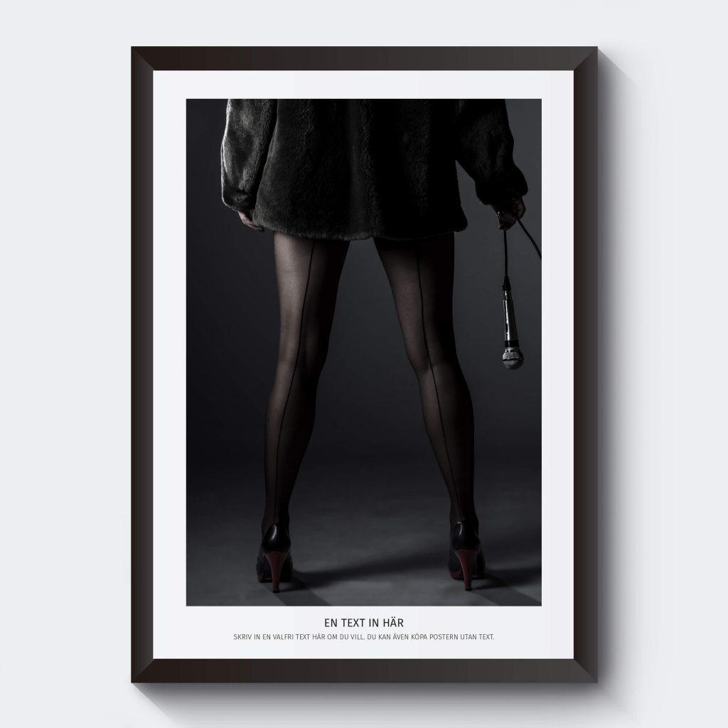 Gör en egen tavla med ett svartvitt fotografi