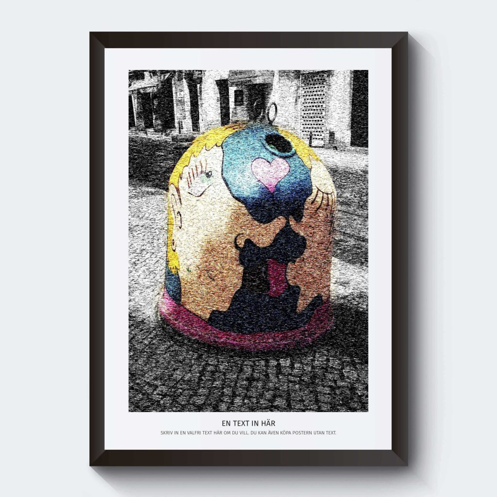 Glasinsamling poster Portugal