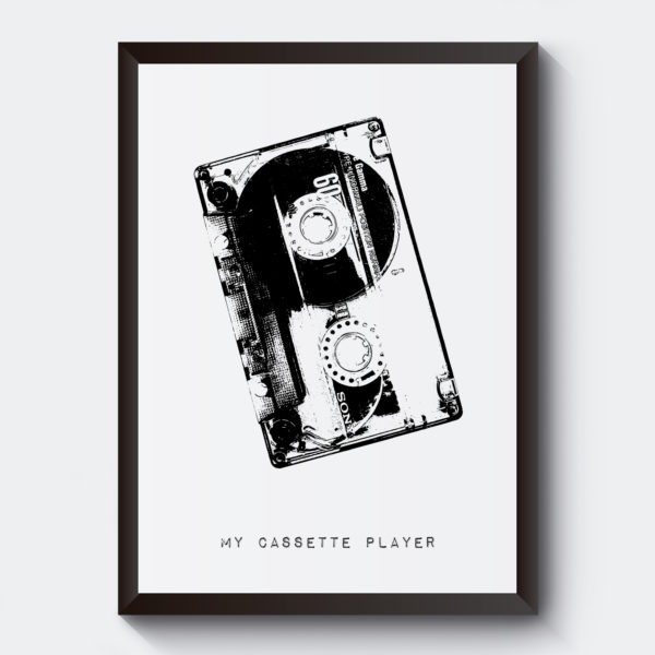 Personlig poster kassettband
