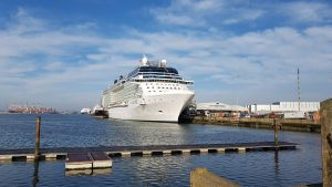Celebrity Eclipse at the City Cruise Terminal in Southampton
