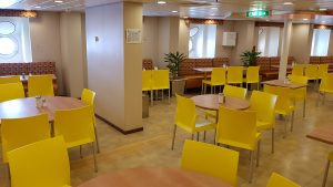 Crew mess of Celebrity Eclipse