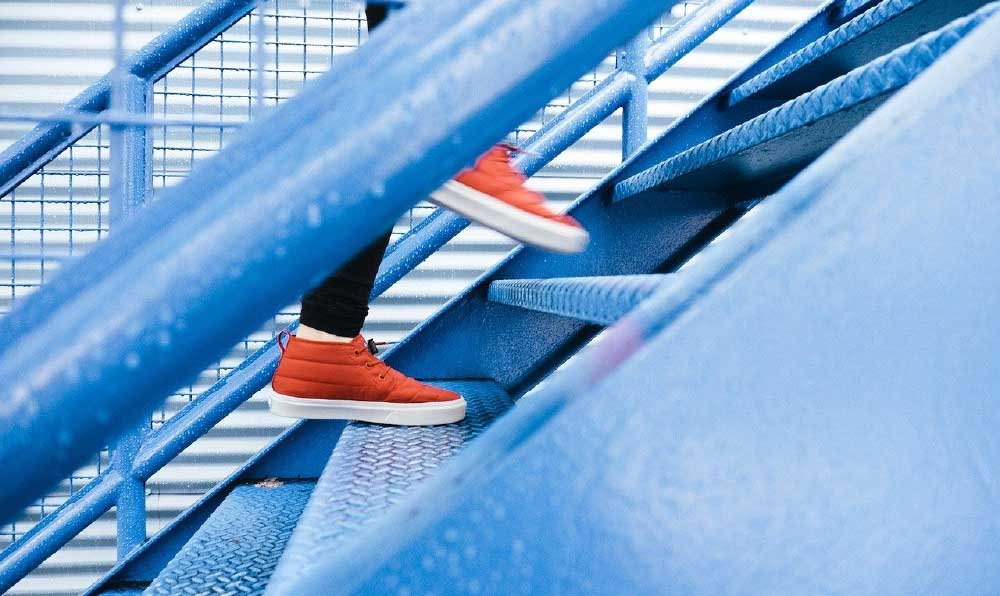covid 19 home stairs challenge