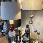 Bordlampe, stue lampe, lame, lamper
