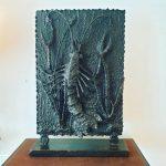 Grande sculpture Abstraite en fer soudé vers 1960. prix 350 €